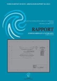 rapport schweigaardsgate 8, vaterland 1 - Norsk Maritimt Museum