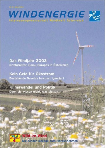 diese Ausgabe - IG Windkraft