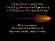 Application of Developmental Kinesiology Principles in ...