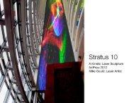 A Kinetic Laser Sculpture ArtPrize 2012 Mike Gould, Laser Artist