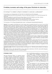 Evolution, taxonomy and ecology of the genus Thelebolus in ... - CBS