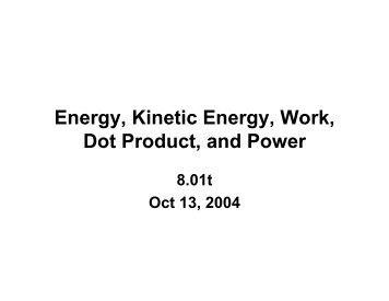 Name Date Work, energy Power Review Problems