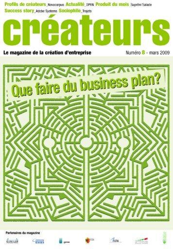 """""""Que faire du business plan?"""" (pdf, 2.3 Mo - Petits déjeuners des ..."""