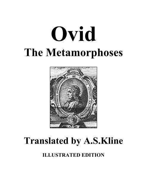 Ovid - The Metamorphoses - Tikaboo