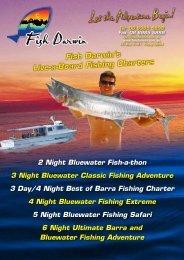 Live-a-Board Fishing Charters - Fish Darwin