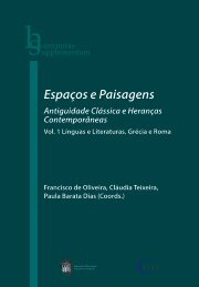 Espaços e Paisagens. Vol. 1 - Universidade de Coimbra