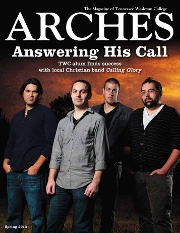 TWC ARCHES Spring 2013