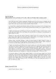 I. fonti classiche Egitto faraonico.pdf - Sapienza
