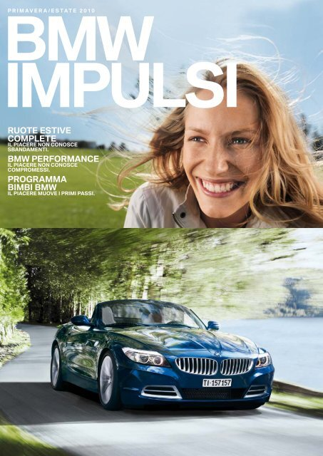RUOTE ESTIVE COMPLETE BMW PERFORMANCE PROGRAMMA ...