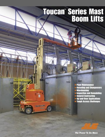 JLG Boom Mast Lift Information, Equipment for ... - Gold Coast Hi-Lift