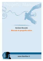 Manuale di geografia antica - Liber Liber