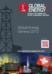 About Global Energy 2012 - Riverlake Group