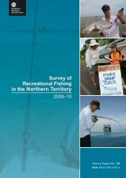 Survey of Recreational Fishing in the NT - Northern Territory ...