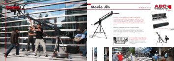 Cranes Kräne Movie Jib - ABC Products