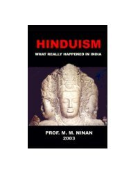 Hinduism: What Really Happenned in India (PDF) - Oration