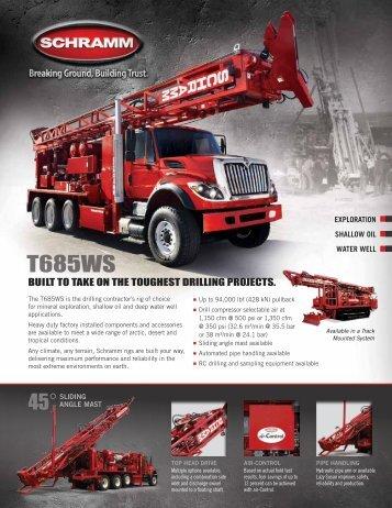 T685WS Literature - Schramm Inc.