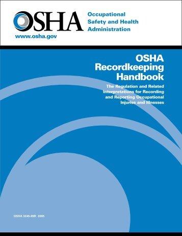 OSHA Recordkeeping Handbook