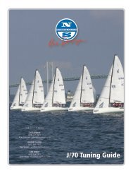 J/70 Tuning Guide - North Sails - One Design