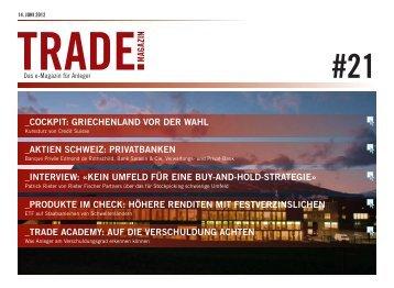 Trade Magazin-NZZ; Patrick Rieter - rf-partners.ch