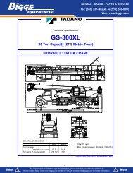 GS-300XL - Cranes for Sale