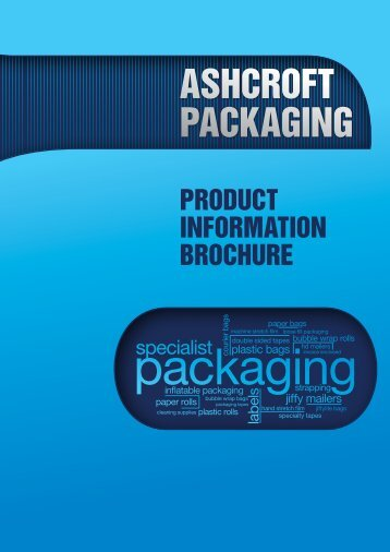 Download Our Brochure Here - Ashcroft Packaging