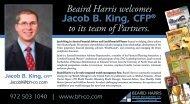 2nd draft-BH Jacob King Partner Post Card - Beaird Harris & Co., PC