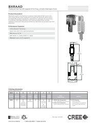 Cree Traditional Post-Top LED Upgrade Kit - Cree, Inc.