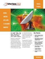 MODEL 9-METER KPC & KPK C & KU-BAND KINGPOST Antenna ...