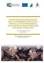 MONITORAGGIO BIOLOGICO SULLE ... - Regione Abruzzo