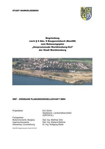 Seepromenade - Stadt Markkleeberg