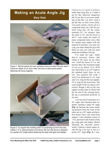 Joe fusco s crown molding miter bevel angle chart for Crown molding size chart