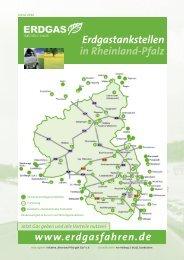 Erdgastankstellen in Rheinland-Pfalz - Rheinland Pfalz gibt Gas eV