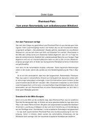 Dieter Gube Rheinland-Pfalz: Vom armen Retortenbaby zum ...