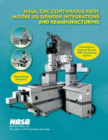 nasa, cnc continuous path, moore jig grinder integrations and ...