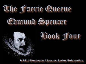 The Faerie Queene, Book IV - Penn State University