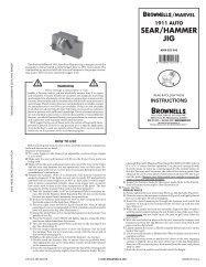 1911 catalog PDF version - Brownells