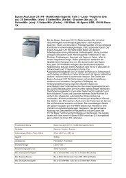 Epson Aculaser CX11N - Multifunktionsger
