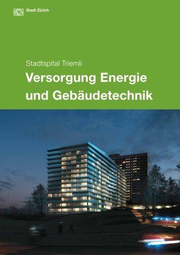 Versorgung Energie und Gebäudetechnik - Stadt Zürich