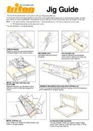 Jig Guide - Triton Tools | Home