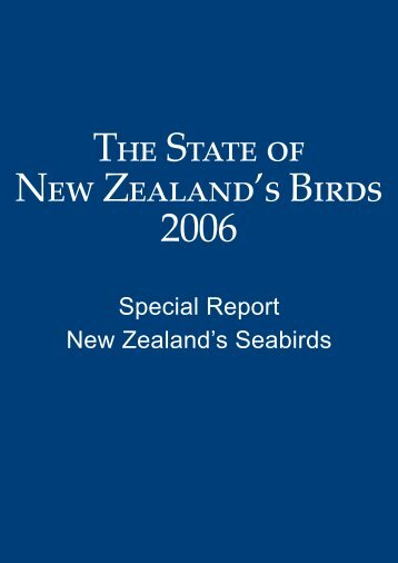 Download publication - The Ornithological Society of New Zealand