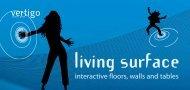 living surface flyer - richnerstutz AG