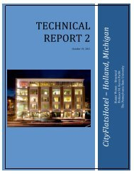TECHNICAL REPORT 2 - College of Engineering