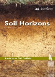 Soil Horizons Iss19.indd - Landcare Research