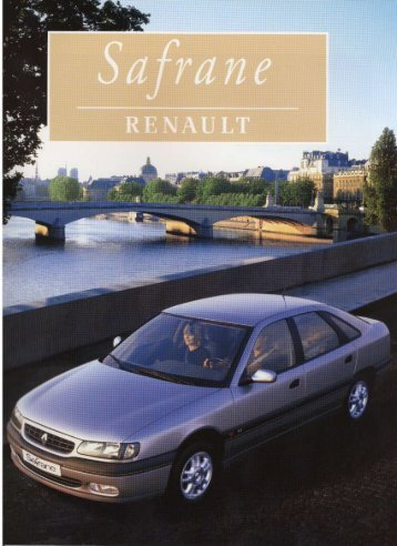 Page 1 Page 2 Page 3 Ii i '_ Renault Safrane Die auterno|:i||e ...