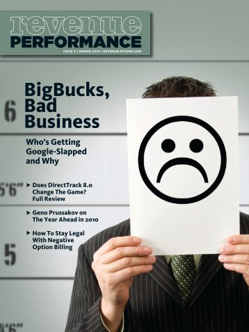 BigBucks, Bad Business - OPMpros.com