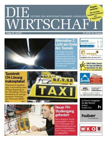 Die Wirtschaft Nr. 29-30 vom 22. Juli 2011
