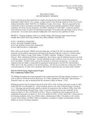 bid package - The Housing Authority Of The City Of Perth Amboy ...