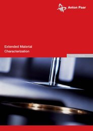 Extended Material Characterization - MEP Instruments