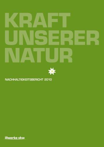 Nachhaltigkeitsbericht 2010
