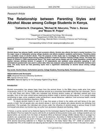 relationships between parenting styles and risk Positive parent-child relationships provide the foundation   • respect diverse parenting styles,  risk factors can negatively affect parent-child.